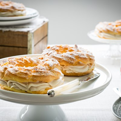 Mini Paris Brest con Crema di Marroni