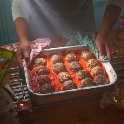 Lamb and Eggplant Meatballs