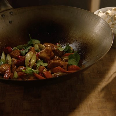 Chicken Stir Fry in Hoisin Sauce