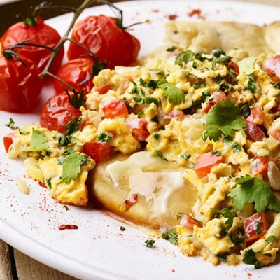 INDIAN SCRAMBLED EGGS