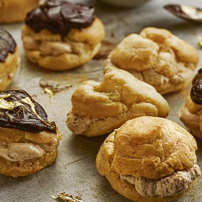 Cinnamon Spiced Profiteroles