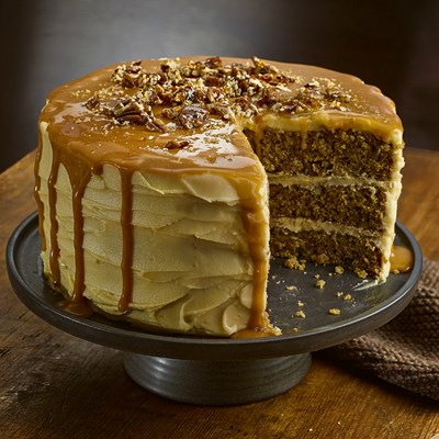 Parsnip and Praline Cake