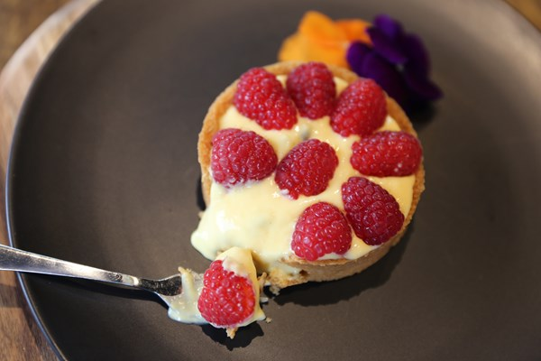 Easy Passionfruit Curd Tart