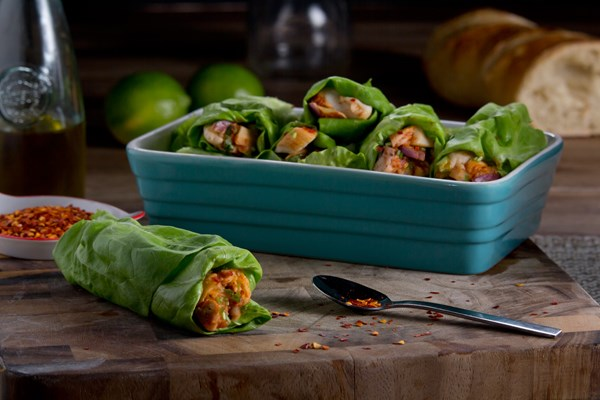 WRAPS DE POLLO AL CHIPOTLE