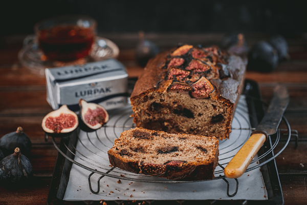 Fig and Chocolate Banana Bread