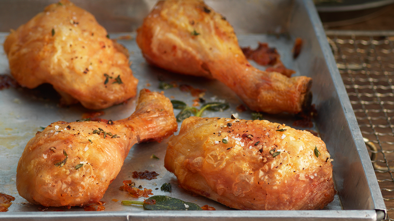 Crispy Oven Roasted Chicken Pieces Lurpak